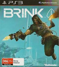 PLAYSTATION 3 BRINK PS3 GAME