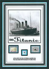 TITANIC COAL relic, piece w/COA, from R.M.S Titanic White Star Line wreckage