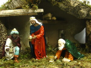 Nativity Scene Wise Men Landi Presepio Figuras para Pesebre Reyes Nacimientos