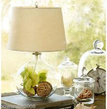 Creative Simple 1*Light Rice White Glass Cloth Diameter 35cm Table Light/Lamp !