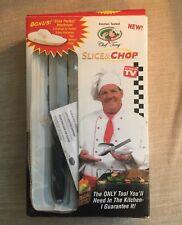"Chef Tony - Slice & Chop ""As Seen On TV"" + Bonus ""Slice Perfect Attachment"""