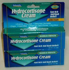 2 Natureplex Hydrocortisone Cream Maximum Strength Itch & Rash Relief NIP