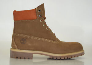 Timberland 6 Inch Icon Premium Boots Waterproof Men Lace up Boots A19SM