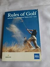 New listing Rules of Golf from the Royal & Ancient in association with Rolex 2012-2015