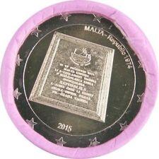 "Pièce 2 euros MALTE 2015  ""Republic of Malta 1974, Indépendance"" - UNC"