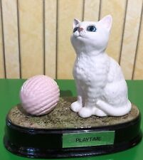 BESWICK PERSIAN CAT KITTEN PLAYTIME PINK WOOL WHITE GLOSS  No 1886/3093  PERFECT