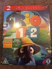 Rio/Rio 2  Blu-ray NEW