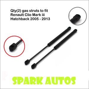 FOR RENAULT CLIO MK3 HATCHBACK 2005-2013 REAR BOOT GAS STRUTS match: 32062565