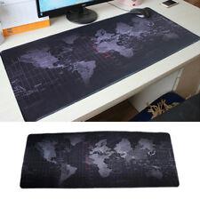 Weltkarte Mauspad XXL lang GAMING Anti Rutsch Mousepad 900x400 mm Maus Pad Mat