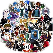 50 Harry Potter Stickers Hogwarts Gryffindor Slytherin Ron & Hermione Voldemort