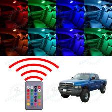 20Color Change RGB Dome Room Lights LED Set for Dodge Ram 1998-2000