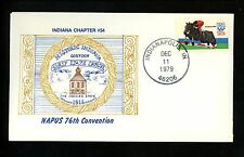 US Postal History USPS Postmasters Association State Indiana IN Indianapolis