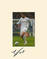 10 x 8 inch mount personally signed by Adel Taarabt of QPR on 10.01.2015.