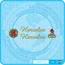 Hercules - Bicycle Decals Transfers Stickers - Set 1