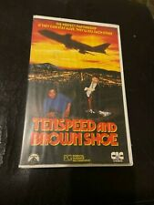 Tenspeed and Brown Shoe ex-rental VHS video tape. HTF.  CIC, police action, 1979