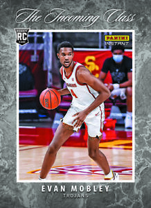 2021-22 Panini Instant The Incoming Class NBA Evan Mobley PRESALE