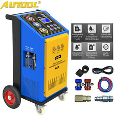 Automatic Refrigerant Recovery Havc Recycling Recharging Filling Machine 110v