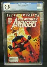 Mighty Avengers #19 (2008) Captain Marvel #89 Cover Swipe CGC 9.8 F848