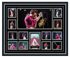 HARRY STYLES LOVE ON TOUR 2020 SIGNED POSTER LIMITED EDITION FRAMED MEMORABILIA