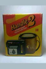 VINTAGE 1979 KODAK HANDLE 2 INSTANT FILM CAMERA ORIGINAL CARRY CASE & PAMPHLET