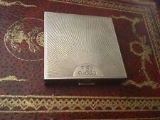 vintage tiffany & co. silver compact