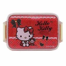 Hello Kitty Sanrio Japanese Bento Lunch Box Food Container 450ml Made in Japan