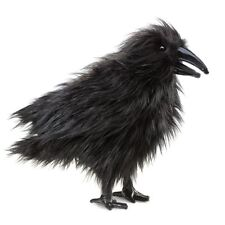 Folkmanis High Quality Comfortable Puppets Pretend Fun Animal Puppets (Raven)
