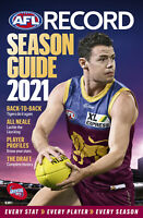 2021 OFFICIAL AFL SEASON RECORD GUIDE - Every Stat Every Player Every Season