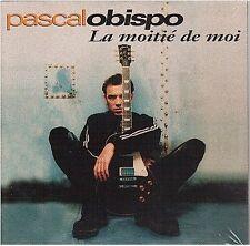 PASCAL OBISPO la moitié de moi CD SINGLE neuf
