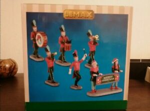 Lemax Village figurines Marching Band Christmas On Parade #03515 set of 6 second