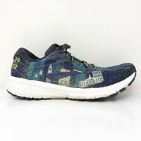 Brooks Womens Ghost 12 1203051B443 Blue Running Shoes Lace Up Low Top Size 8.5 B