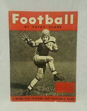 FOOTBALL by POTSY CLARK Magazine 1935 Detroit Lions good condition