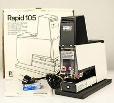 Rapid 105 E Heftgerät Elektrischer Block Hefter Tacker Apparat 50 Blatt