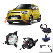 Genuine OEM Fog Lamp Lights Assembly with Conector 4p For 2014 2017 Kia Soul