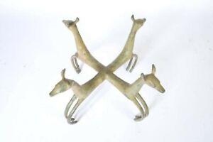 Armand Albert Rateau Brass Deer Table