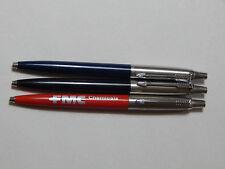 3 vintage parker ball point pens, made in U.S.A, Made in U.K., vintage Pens