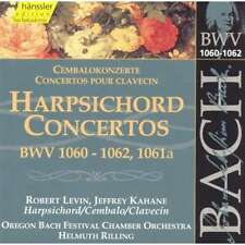 HANSSLER EDITION CD 92.129 * BACH Harpsichord Concertos CD