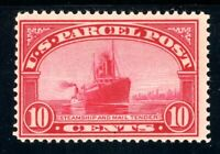 USAstamps Unused FVF US 1913 Parcel Post Steamship Scott Q6 OG MNH Fresh