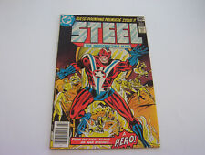 STEEL THE INDESTRUCTIBLE MAN  #1  MARCH 1978   PRISTINE   NEAR MINT-