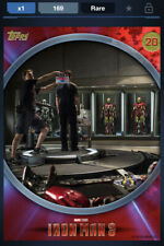 Topps Marvel Collect DIGITAL IRON MAN 3 BEHIND THE SCENES - ID #4664 169CC