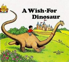 A Wish-For Dinosaur Magic Castle Readers Jane Belk Moncure 1988 NEW Child world