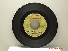 THE CAREFREES -(45)- WE LOVE YOU BEATLES / HOT BLOODED LOVER(GARAGE ROCKER)-1964