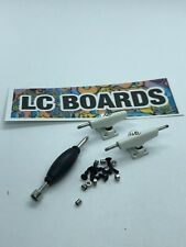 LC BOARDS Fingerboard Trucks 32mm White High Quality Brand New FREE Sticker