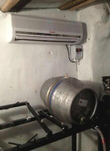 Qualitair Slimline Cellar Cooler System Supply Only For F Gas Installers