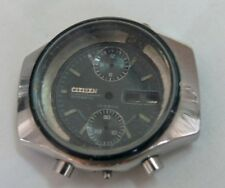 EXCELENT CITIZEN CHRONOGRAPH CASE WRISTWATCG - WITH GLASS, DIAL AND PUSUAR