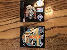 denver broncos memorabilia Collector pins - Super Bowl 33 (1999) and Team
