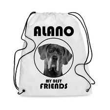 Borsa Sacca cane ALANO MY BEST FRIEND