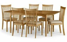 Ibsen Extending Oak Dining Set Table and 6 Chairs 2 Man Home Delivery