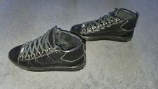 Balenciaga Hi Top Trainers UK8 EU 42 Black