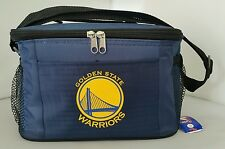 NBA  Golden State Warriors Lunch Bag - Insulated Box Tote - 6-Pack Cooler
